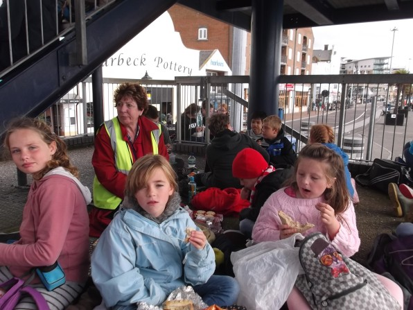 lunch on Poole Quay
