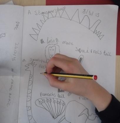 designing dinosaurs