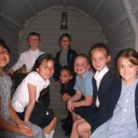 in the Anderson shelter