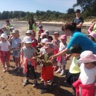 beach school...