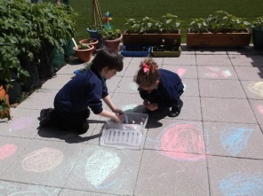 maths outside