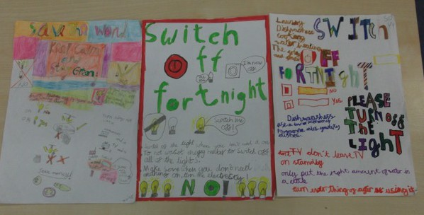 Switch Off Fortnight Poster Competition St Mary S