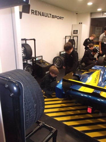 wheel-changing