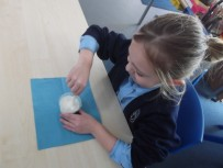 using dry ice to freeze ice cream in year 3