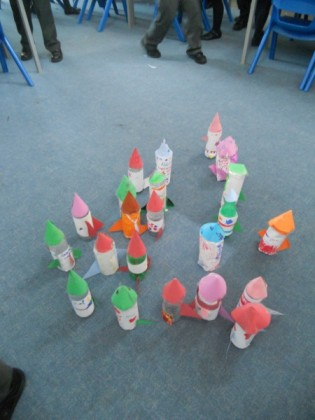 a collection of rockets