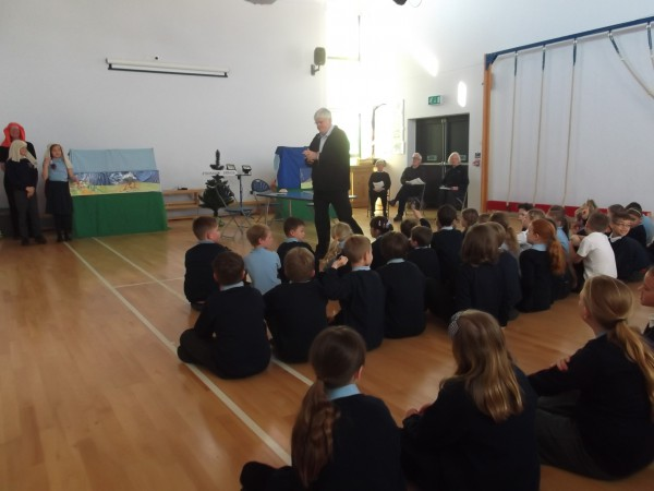 Open The Book Assembly St Mary S Catholic Primary School