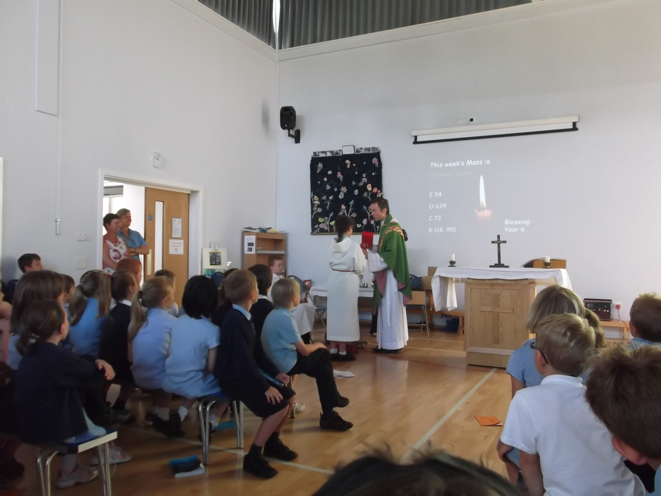 Leavers Mass St Mary S Catholic Primary School