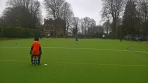 hockey at Sunnyhill - very wet!