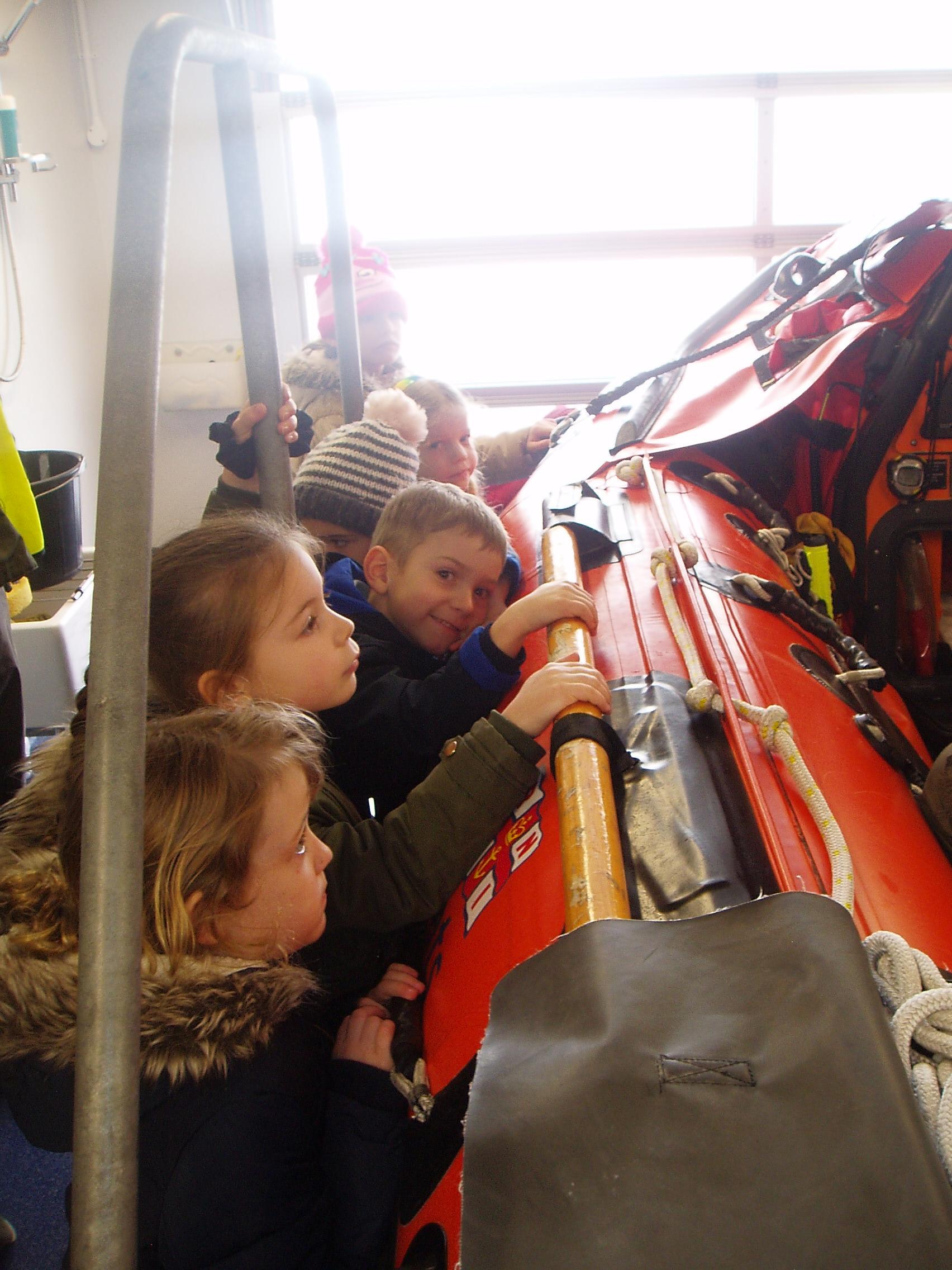 Year 1 Visit Swanage Lifeboat Station St Mary S Catholic
