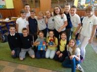 Year 4c with Paddington Bear